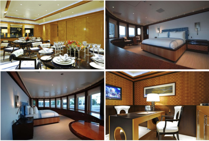 TOP: Formal Dining & Master, BOTTOM: Master 2 & Owners Office.