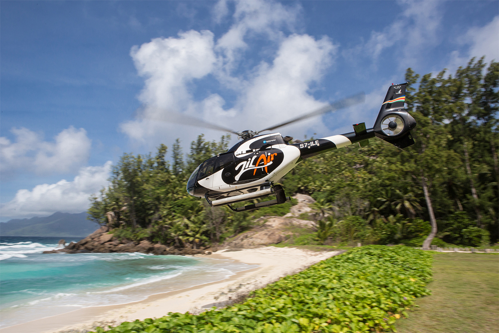 Only 15 minutes via helicopter from Mahe Island, North Island is easily accessible to those willing to pay for resort's sumptuous privileges.