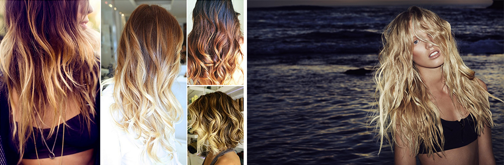 The 'Surfer Girl' style features the 'Sombre' styling technique, which gives a softer, and more subtle low maintenance look.