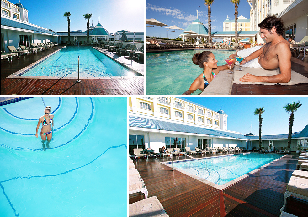 Guests at the Table Bay enjoy a wide selection of facilities, including a stunning private pool.