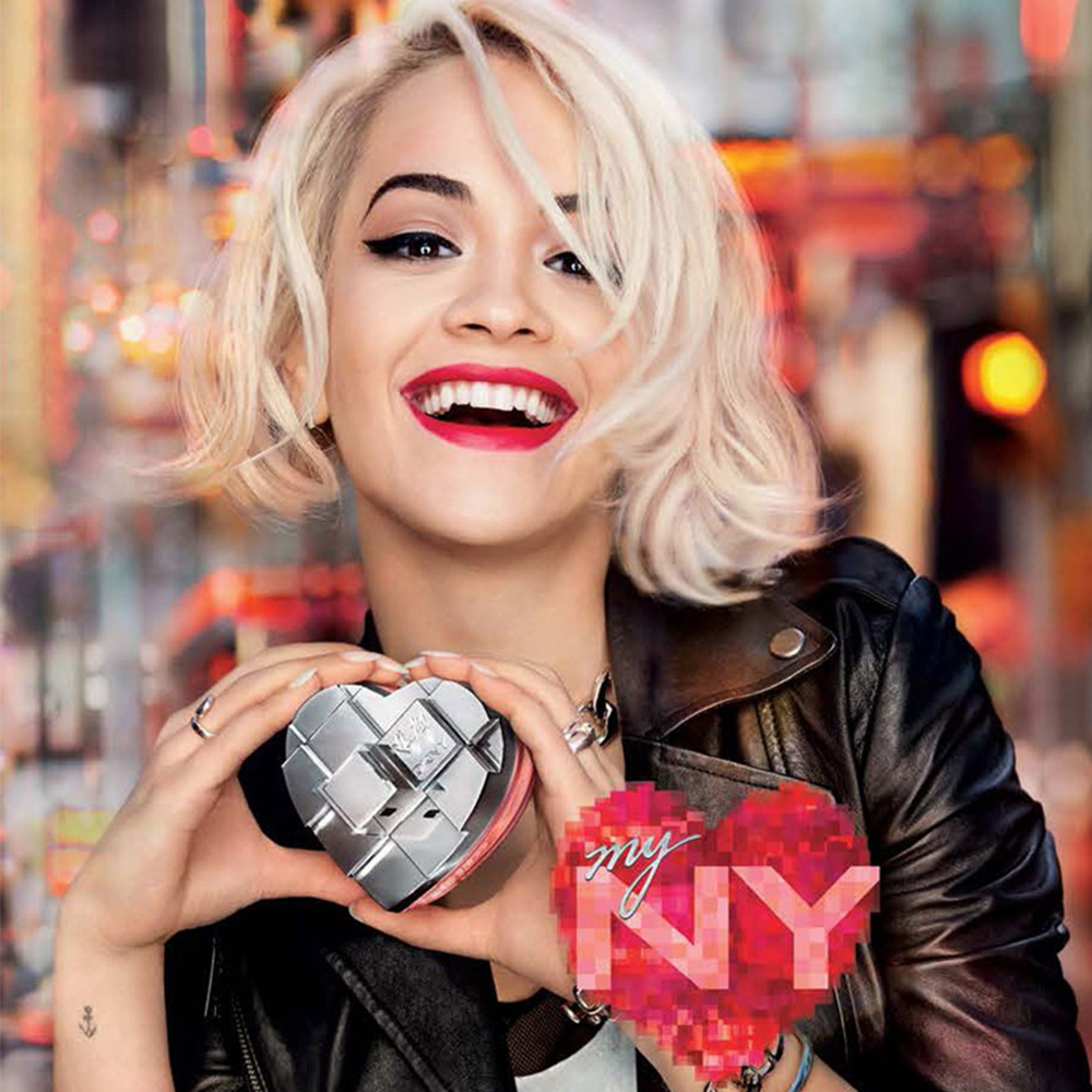 "DKNY & Rita Ora have teamed up to create a fragrance they described as being ""pure energy in a bottle""."