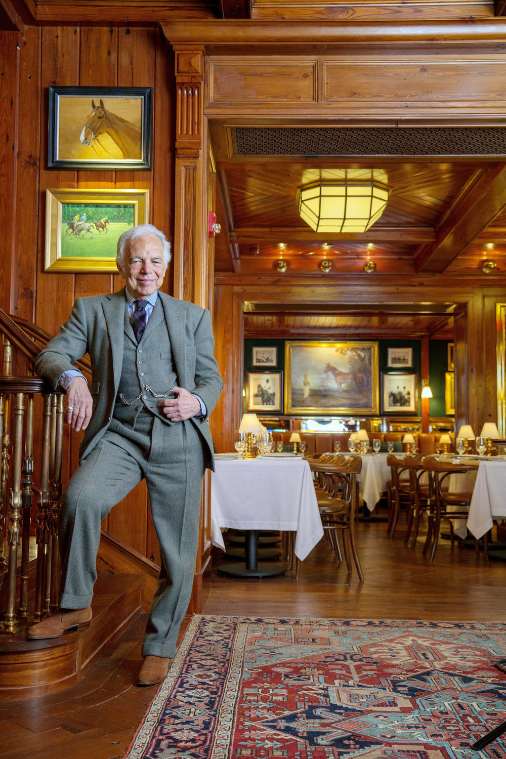 Ralph lauren to open new polo bar restaurant in nyc for Bar dining t bar