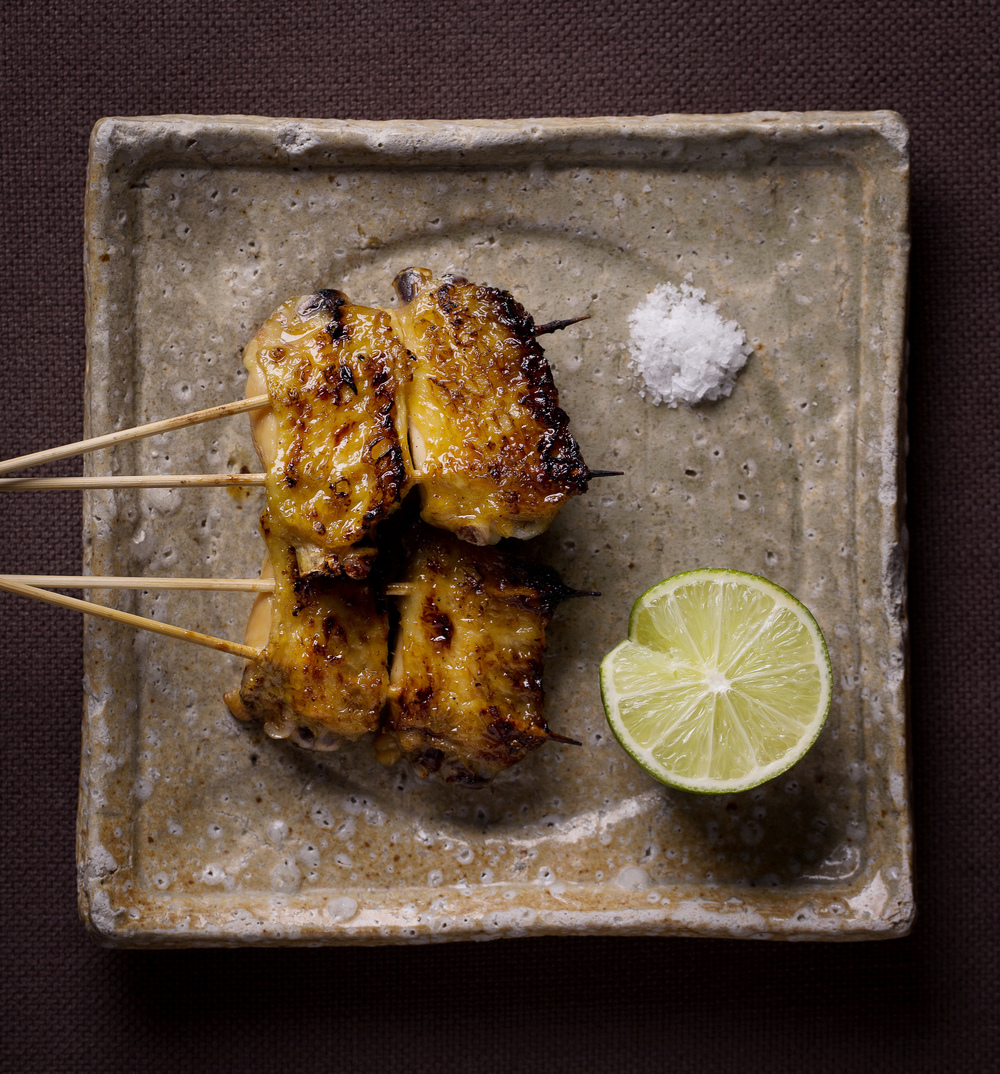 Zuma's chicken wings with sake, sea salt and lime - tori no tebasaki. Photo Credit: John Carey