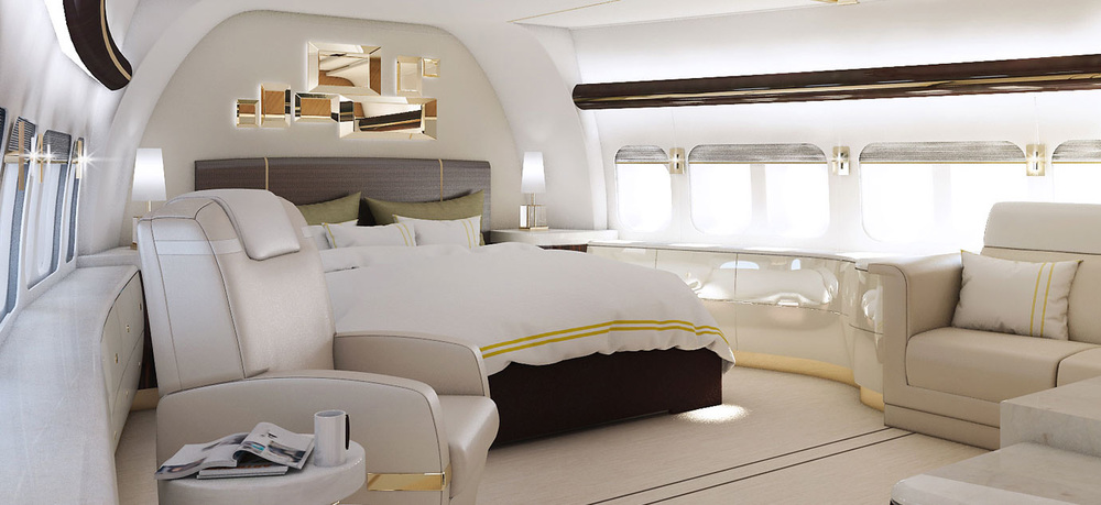 In Fact, The Private Jet, Which Cost Around $600 Million To Redesign And  Customize, Is Even Plusher Than What One Would Expect On A Luxury Megayacht.
