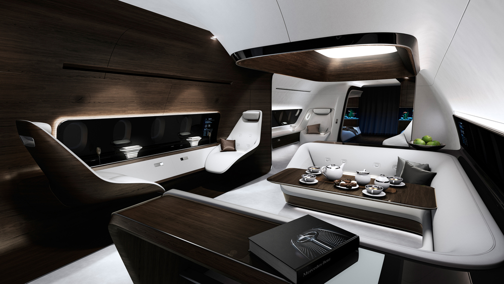 The Ultimate Luxury Airplane Baroque Lifestyle Travel