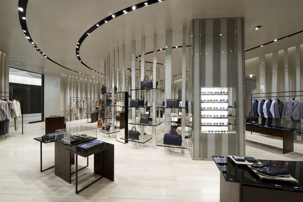 First giorgio armani store in africa baroque lifestyle for Baroque lifestyle