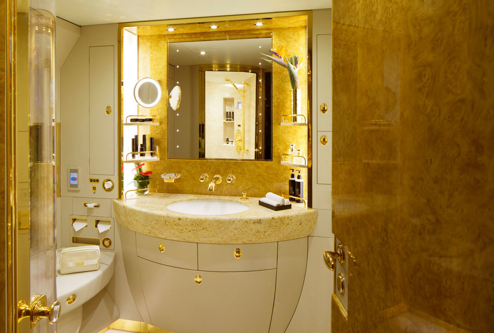 Private jets baroque lifestyle travel luxury hotels dining trends - Economic bathroom designs ...
