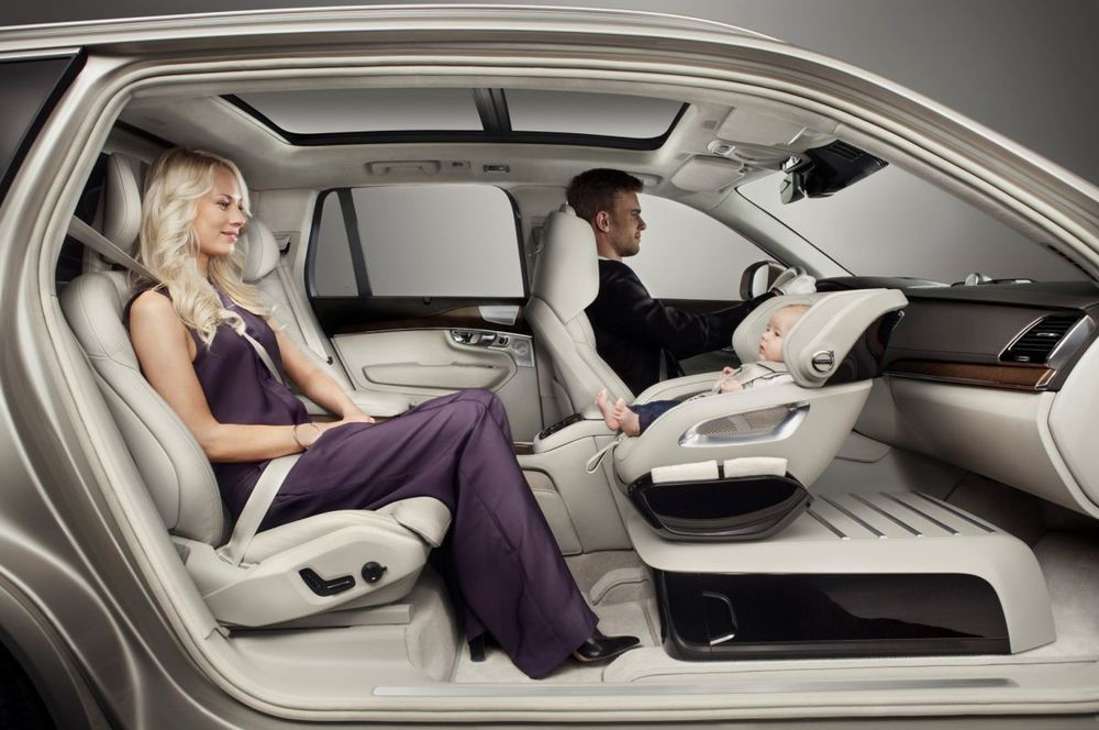 Volvo Luxury Child Car Seat Baroque Lifestyle Travel Luxury