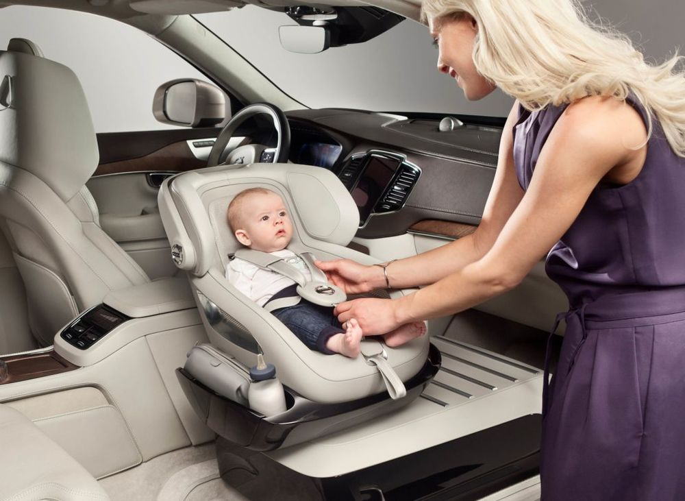 Volvo Luxury Child Car Seat — Baroque Lifestyle - Travel, Luxury