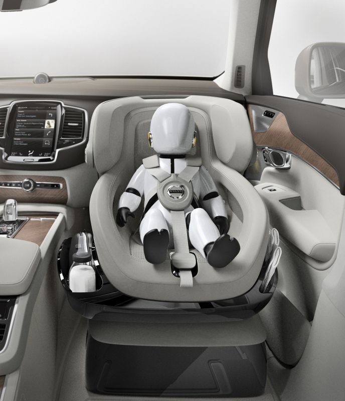 Called The Excellence Child Seat Concept It Also Offers Small Children Opportunity To Lean Back Comfortably And Sleep While In Motion Volvo Insists