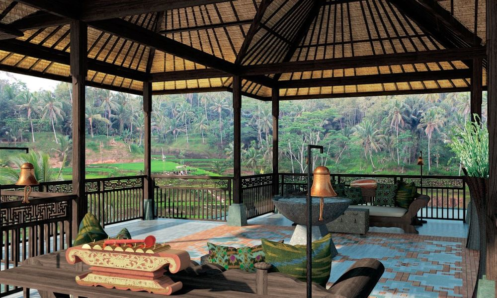 Ritz Carlton Reserve Mandapa in Bali