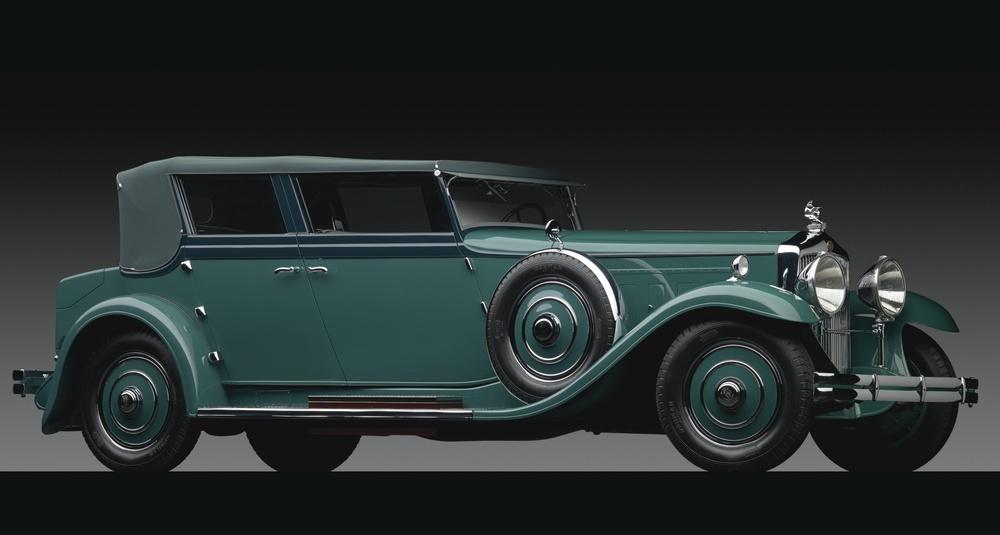 Minerva Al Convertible Sedan, 1931