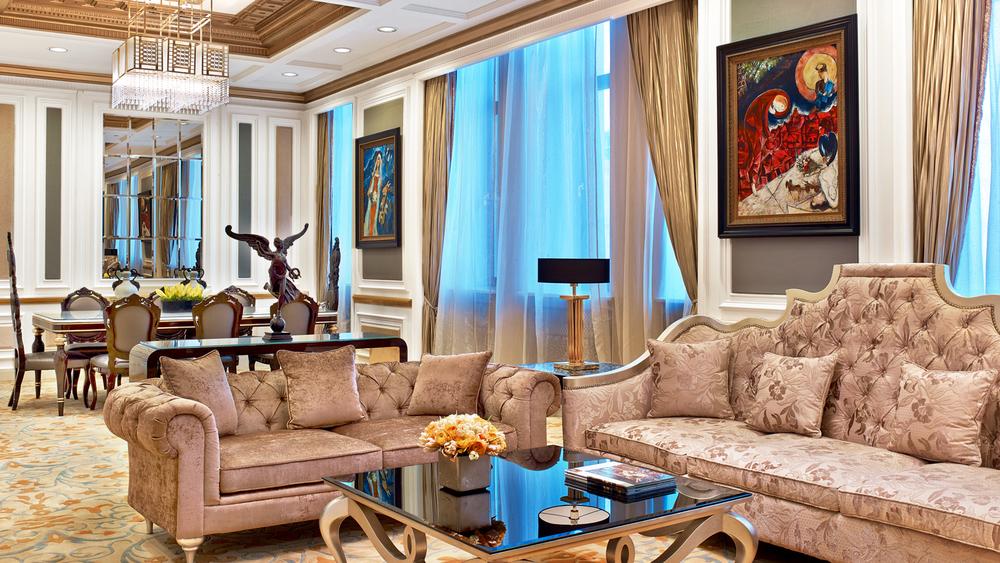 St. Regis Moscow Nikolskaya, Presidential Suite