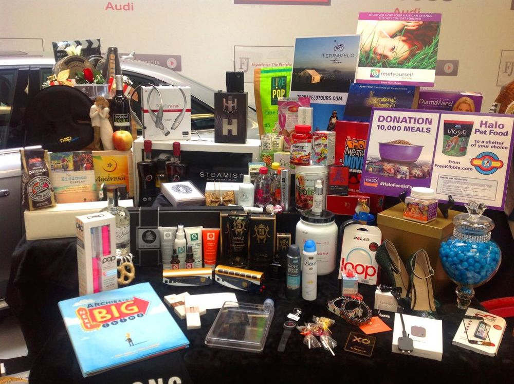 Oscar nominee gift bags 2015