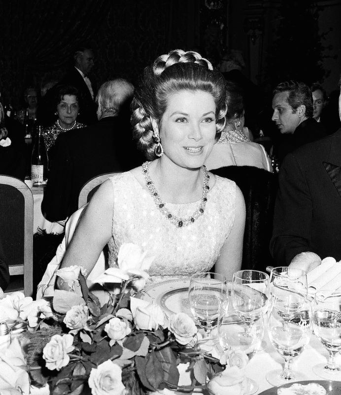 Princess Grace at the Rose Ball, 1970