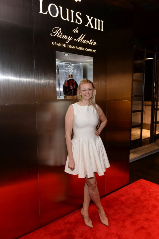 Alisa Roever attends Baroque Access Presents- Louis XIII Legacy Experience
