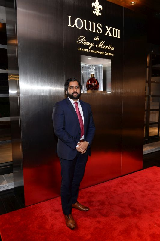 Asanka Pathiraja attends Baroque Access Presents- Louis XIII Legacy Experience