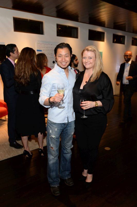 Dr. Harrison Chen and Lisa Benson Asanka Pathiraja attend Baroque Access Presents- Louis XIII Legacy Experience