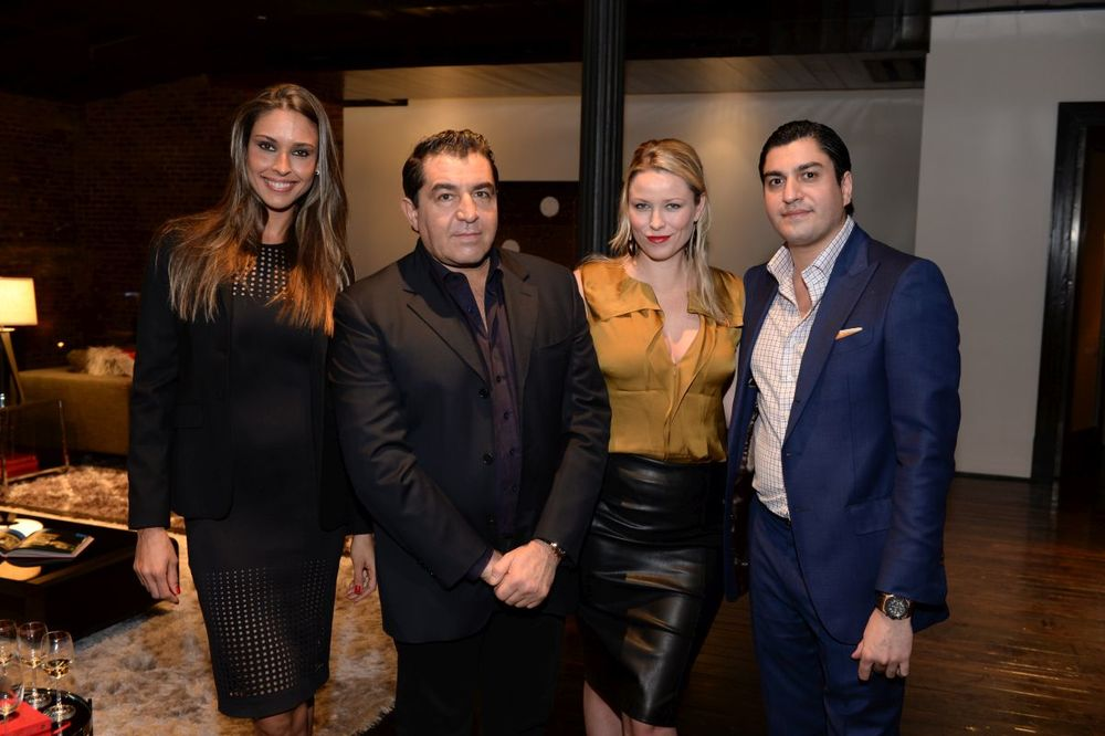 Her Excellency Ambassador Amanda Ungaro, His Excellency Ambassador Paolo Zampolli, Kiera Chaplin, and Oliver James attend Baroque Access Presents- Louis XIII Legacy Experience