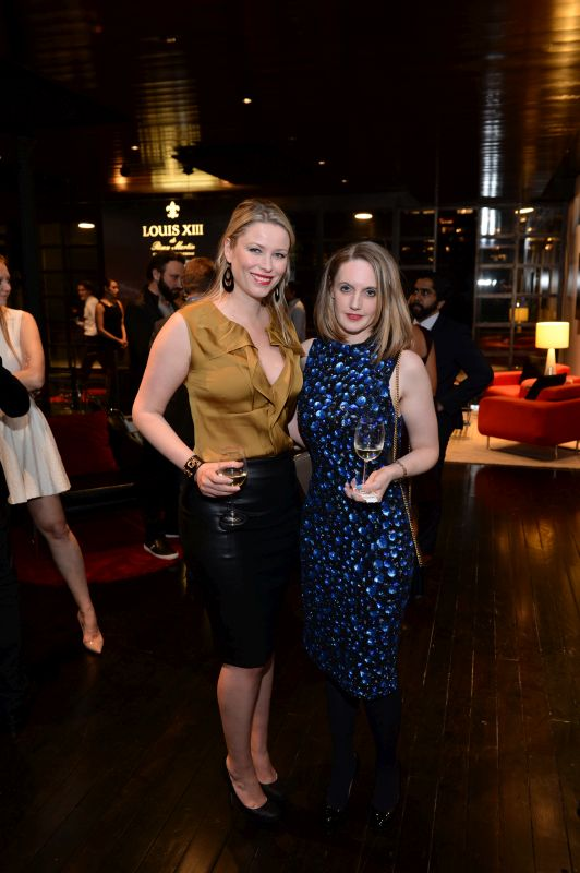 Kiera Chaplin and Sarah Tallent attend Baroque Access Presents- Louis XIII Legacy Experience