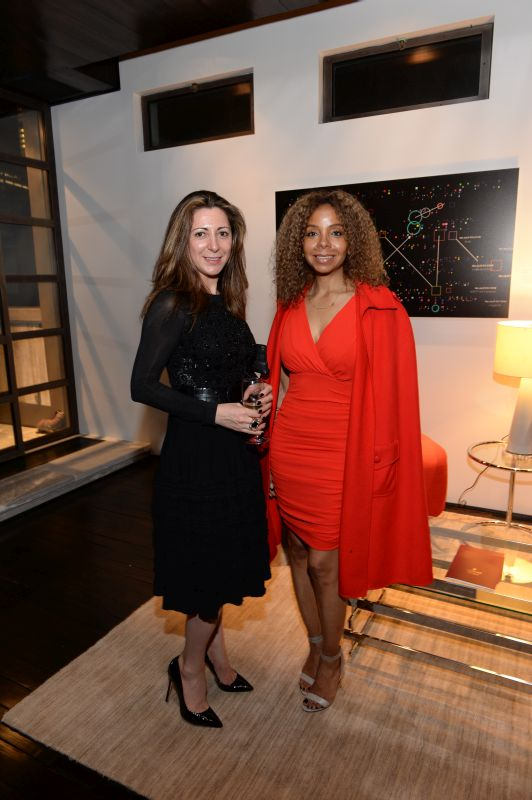 Mzia Bekuraidze and June Haynes attend Baroque Access Presents- Louis XIII Legacy Experience