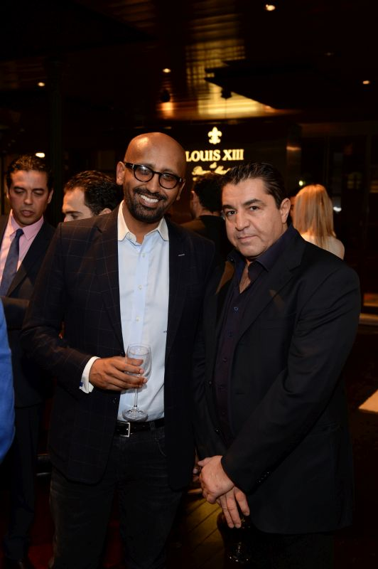 Sahle Ghebreyesus and His Excellency Ambassador Paolo Zampolli attend Baroque Access Presents- Louis XIII Legacy Experience