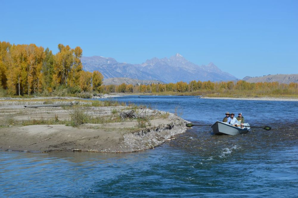 The 2016 luxe list baroque lifestyle travel luxury for Snake river fly fishing