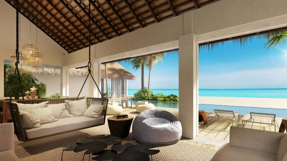 Beach Villa Living Room