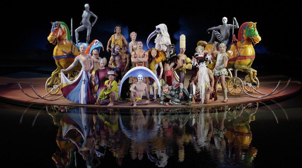"""""""O"""" by Cirque Du Soleil at Bellagio"""