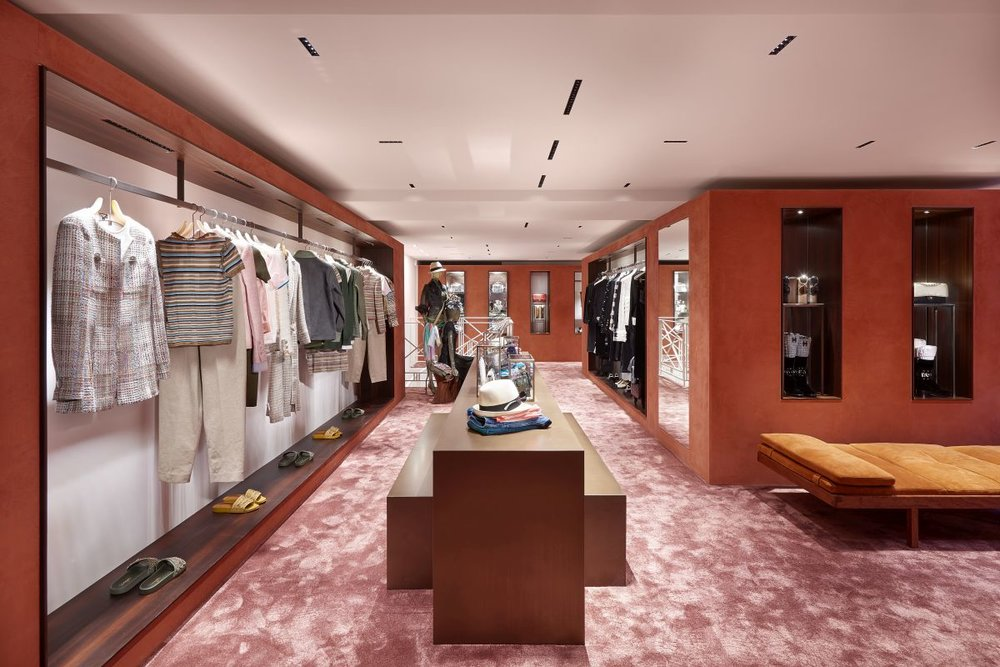 Chanel boutique in Courchevel, photos by Olivier Saillant