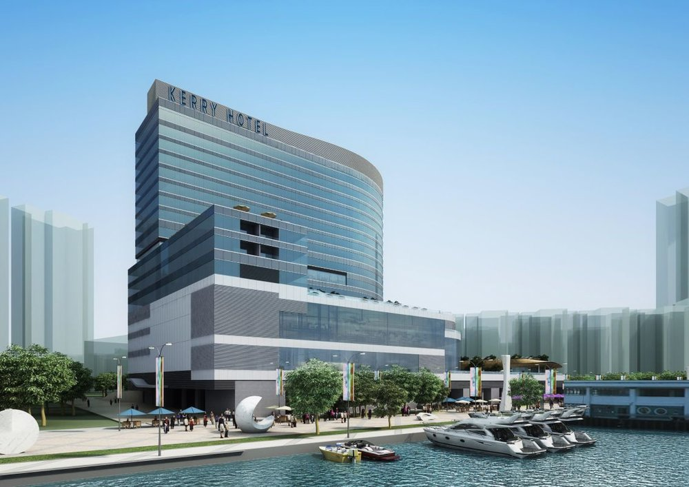 Opening in hong kong this april shangri la s kerry hotel for Hotel luxury hong kong