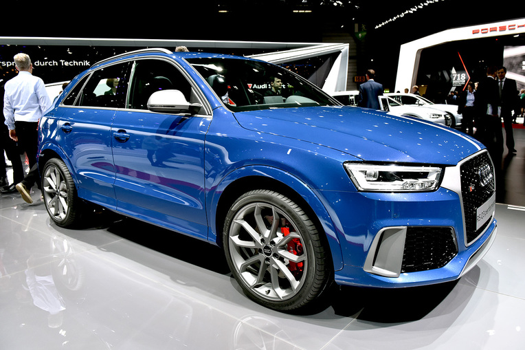 Audi RS Q3 Performance at the 2016 Geneva Motor Show; Photo by David Marechal