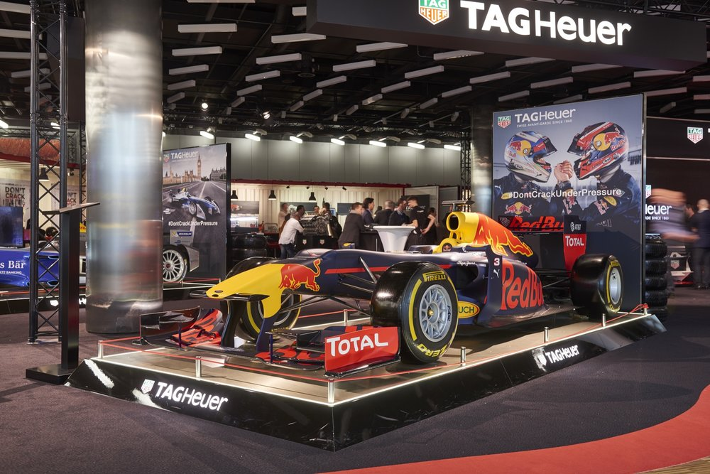 TAG Heuer Exhibition at the 2016 Geneva Motor Show