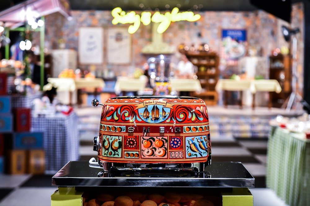 DOLCE&GABBANA COMING SOON TO YOUR KITCHEN