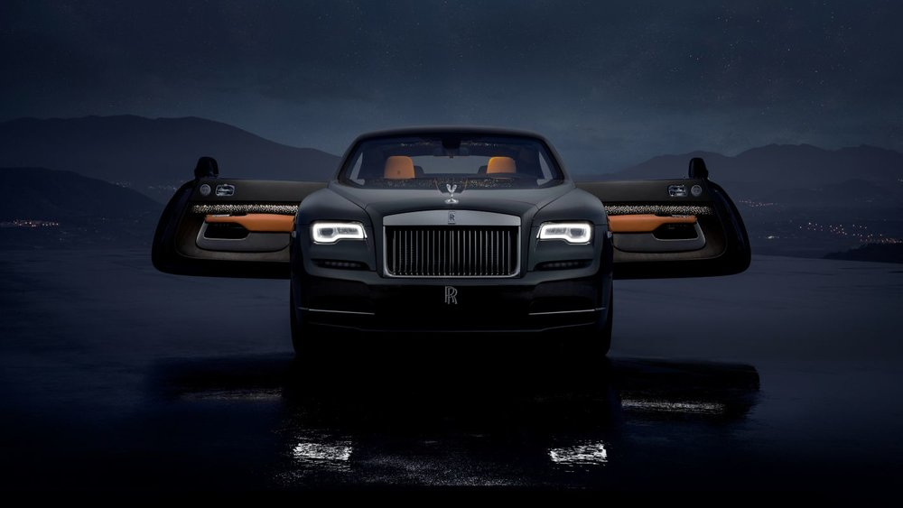 ROLLS-ROYCE LIMITED EDITION WRAITH LUMIARY COLLECTION DAZZLES