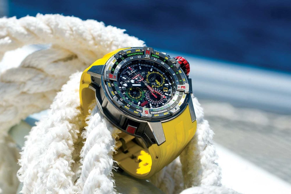 RICHARD MILLE LAUNCHES LIMITED EDITION REGATTA TIMEPIECE