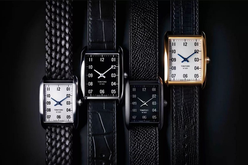 TOM FORD UNVEILS LUXURY TIMEPIECE