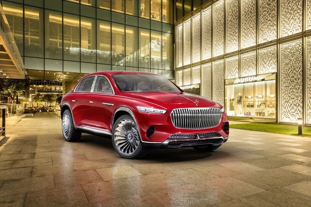 VISION MERCEDES MAYBACH ULTRA LUXURY CONCEPT