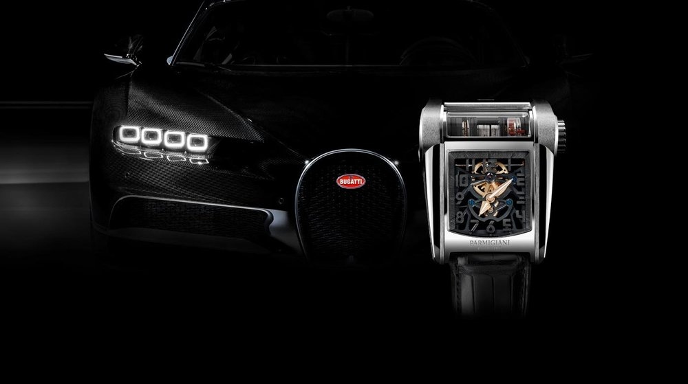 NEW SPECIAL EDITION FLEURIER WATCH FROM PARMIGIANI AND BUGATTI