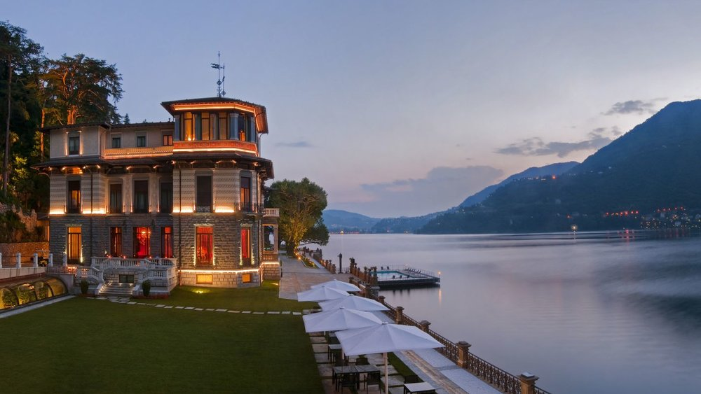 LUXURY RESORT REOPENS ON THE SHORES OF LAKE COMO