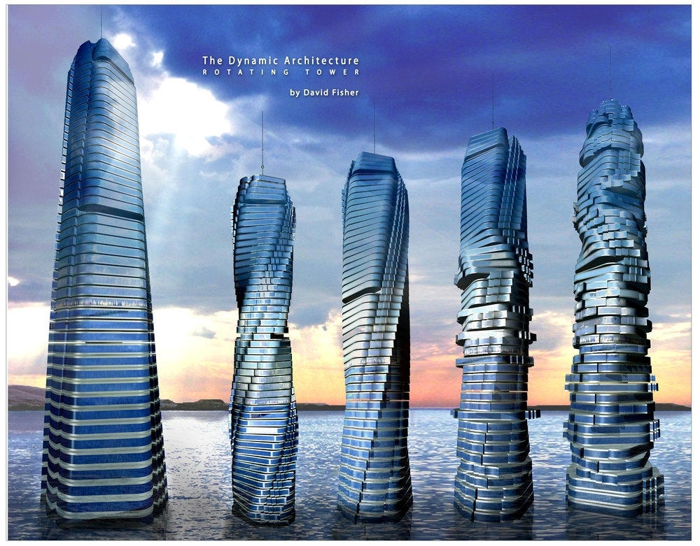 TOWER WITH A TWIST IN DUBAI BY 2020