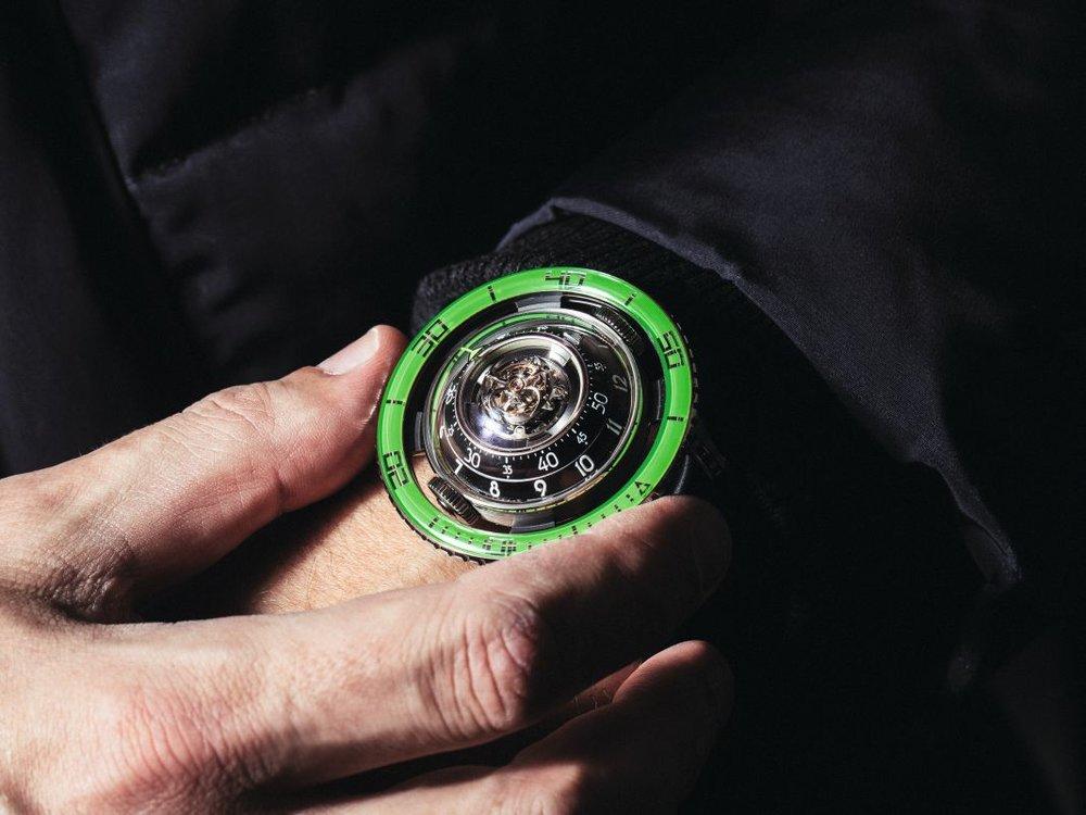 AVANT-GARDE SWISS BRAND CREATES NEW TIMEPIECE
