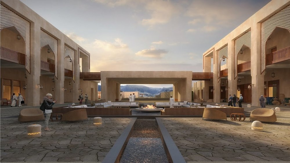 LUXURY OMAN RESORT OFFERS EVERYTHING - INCLUDING INCREDIBLE VIEWS