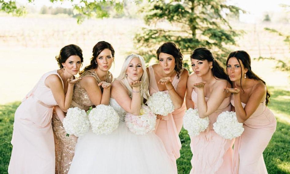 Honor Beauty, Vineyard Bride, The Swish List, Bridal Party, Wedding Hair and Makeup, Niagara Hair and Makeup,