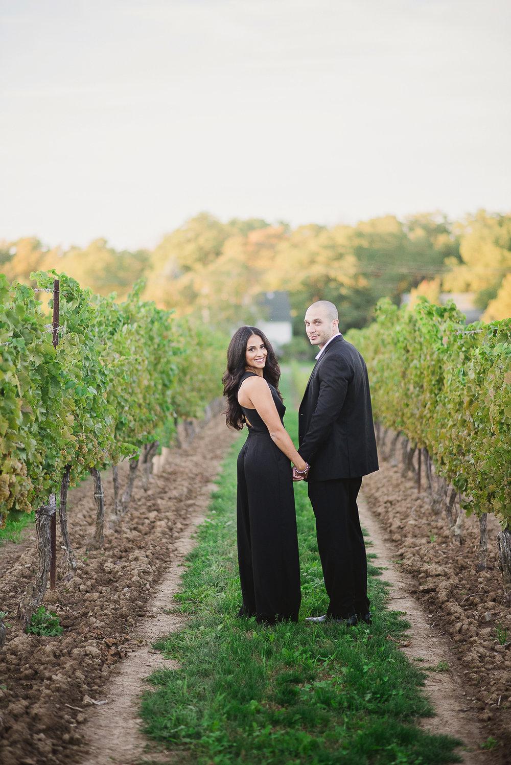 Vineland Estates Engagement Alicia Amp Giordano Vineyard Bride Niagara S Wedding Resource