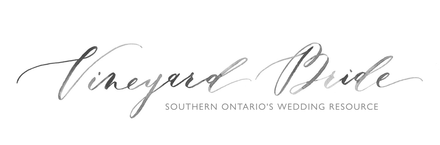 Vineyard Bride // Southern Ontario's Wedding Resource