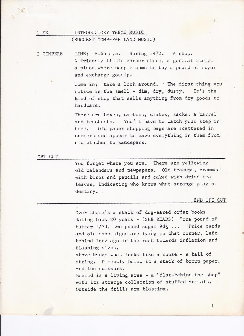 Joe and Rose Radio Play script sample0002.jpg