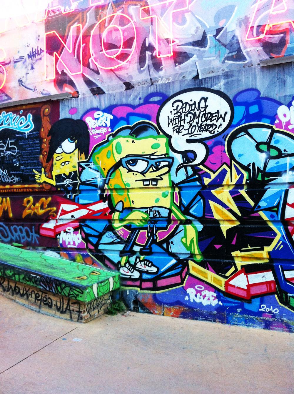 Streetart @ La friche