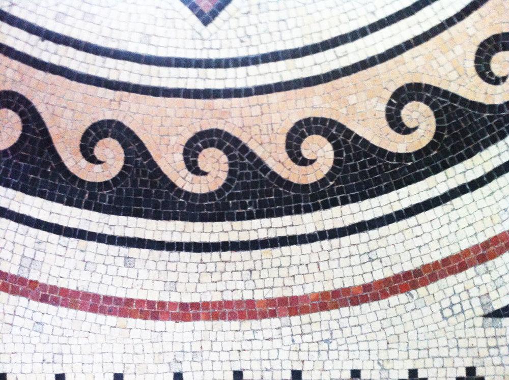 Détail de la mosaïque de la Cathédrale La Major