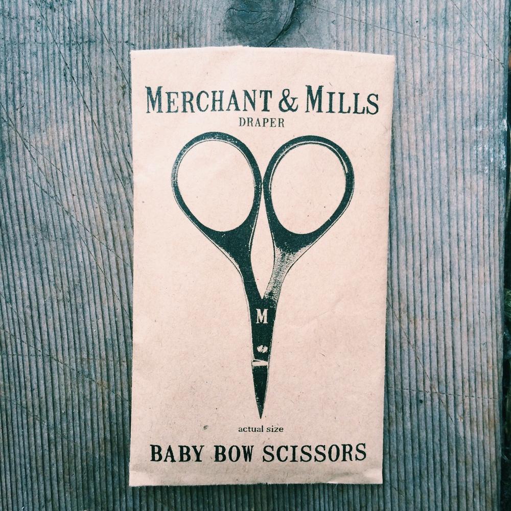 Mes nouveaux cisseaux préférés de chez Merchant & Mills